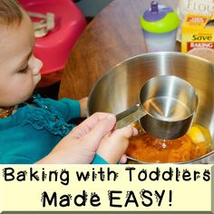 I do agree with many of these tips! It is not the easiest to bake/cook with a toddler, but it is pretty neat! <3