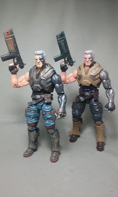Cable - X-men (X-Men) Custom Action Figure by TGC Customs (repaint)