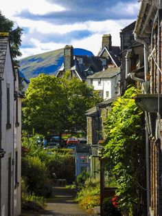 Keswck, England- a great home base for exploring the Lake District. I loved staying here, falling asleep to the sounds of sheep. Cumbria, England Ireland, England And Scotland, Lake District, The Places Youll Go, Places To See, Places In England, English Village, English Countryside