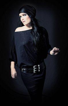 Tarja Turunen, Finnish singer and former female vocalist of Finnish metal band Nightwish