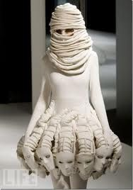 Sculptural.