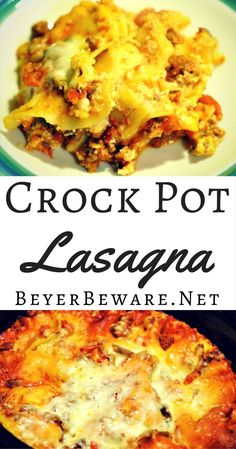 This is a traditional lasagna transformed to be made in the crock pot lasagna is a great way to have lasagna waiting for you when you get home at night.
