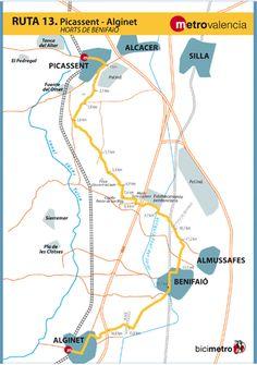 Metrovalencia - Bicimetro - Benifaió Orchard
