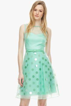 Vestido lady organza - Vestidos | Adolfo Dominguez shop online