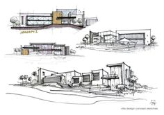 Image of: architecture design concept ideas sketches finding inspiration for concepts archisoup concept and inspiration Architecture Design, Architecture Art Nouveau, Architecture Concept Drawings, Plans Architecture, Architecture Graphics, Villa Design, House Design, Design Presentation, Architecture Presentation Board