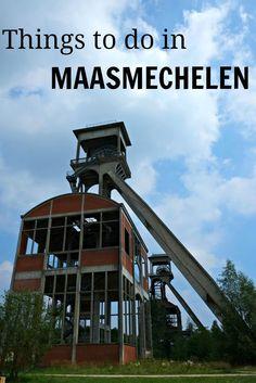 In Maasmechelen, Belgium a National Park lies next do an outlet shopping village and an old mining site.