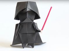 origami darth vader