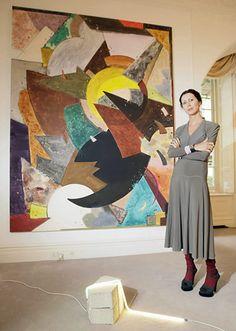 Valeria Napoleone: Art collector Valeria Napoleone at home in London