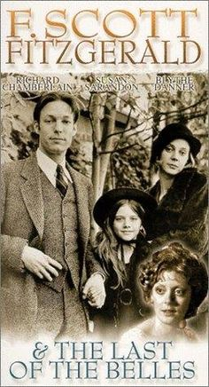 F. Scott Fitzgerald and 'The Last of the Belles' 1974 - Blythe Danner as Zelda and Richard Chamberlain as Scott