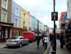 Colorful Portobello Road