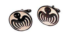 James Bond 007 SPECTRE Symbol Metal/Enamel Cufflinks with Gift box >>> For more information, visit image link.
