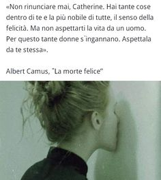 Albert Camus - la morte felice -  italian quotes