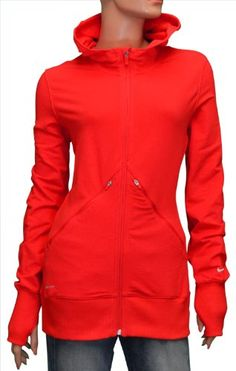 Nike Women's Running Training Jacket Coat-Coral - forget running and training, i just want it...