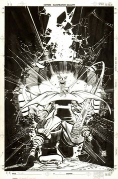 The Mighty Thor #19 - Thor vs Juggernaut by John Romita Jr. *