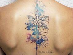 J'ai eu: Un tatouage aquarelle dans le dos! TEST : Dis nous qui tu es, nous te dirons quoi te tat...