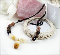 Courage and confident necklace  mookaite steatite by sophinegiam, $20.00