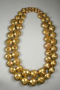 Peru Necklace  3rd-7th century  Moche culture
