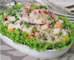 Receita de maionese de atum