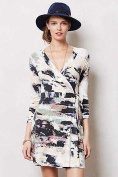 OMG I *LOVE* THIS!!! (Anthropologie - Splashed Wrap Dress)