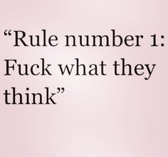 And that's all the rules.