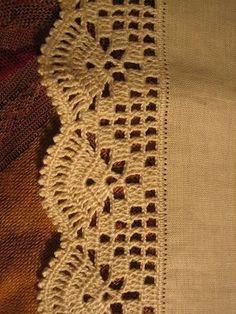 Crochet flower tutorial VERY EASY. Crochet a flower step by step. Crochet flower for beginners. Crochet Boarders, Crochet Edging Patterns, Crochet Lace Edging, Crochet Trim, Crochet Designs, Crochet Doilies, Crochet Flowers, Stitch Patterns, Knitting Patterns