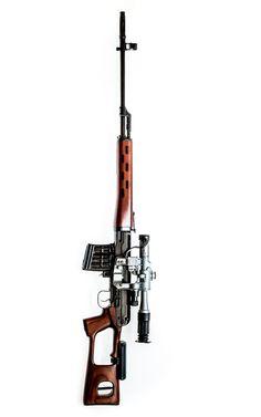 Dragunov sniper rifle SVD