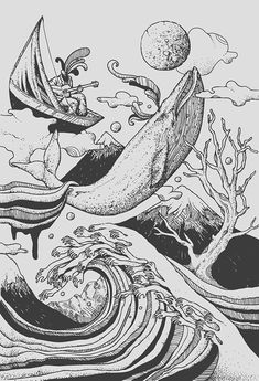 Deep and Ble - Norman Duenas I love the hands for the crest of the wave