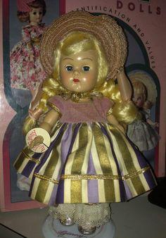 Vintage Vogue Ginny SLW ML Doll Bridal Trousseau (1955) # 63 MINTY!! #Dolls