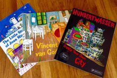 イギリスで発行されている子供のためのアートブック。この国の子供たちは、クリエイティブの面でとても恵まれている。