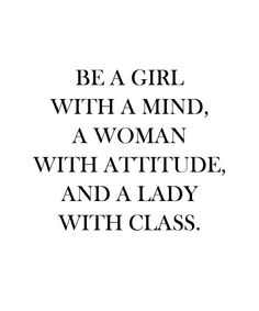 And A Lady With Class - Beautiful Words