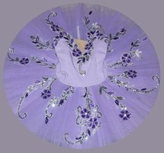 Ballet Tutu - Beautiful purple Color Children's Performance Ballet Tutu