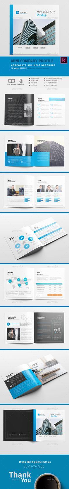 Company Profile Brochure Pinterest Company profile, Brochures