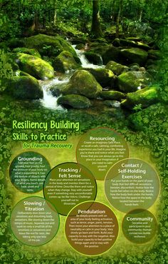 Resiliency Building Skills to Practice for Trauma Recovery