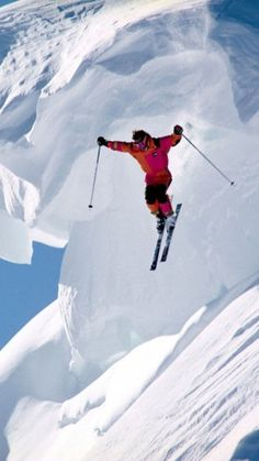 Extreme #skiing. #ski Sun Putty 100% Natural Skin-Loving Sunscreen #sunputty http://www.sunputty.com
