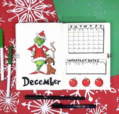 Photos and Videos college leaf layout one page tips quotes washi tape christmas december winter xmas holiday bullet journal bujo planner ideas for weekly spreads studygram study gram calligraphy writing idea inspiration month dates study Planner Bullet Journal, December Bullet Journal, Bullet Journal Monthly Spread, Bullet Journal Notes, Bullet Journal Aesthetic, Bullet Journal Writing, Bullet Journal School, Bullet Journal Ideas Pages, Bullet Journal Layout