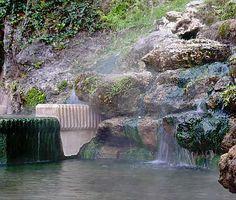 Natural hot spring