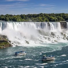 Feel the mist of Niagara Falls - The Great American Bucket List: 50 Things to Do in the US Before You Die