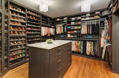 20 Amazing Closet Design Ideas | Style Motivation http://www.incognitocustomclosets.com