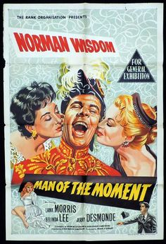 (1955) - ''Man of the Moment'' - Norman Wisdom, Lana Morris, Belinda Lee