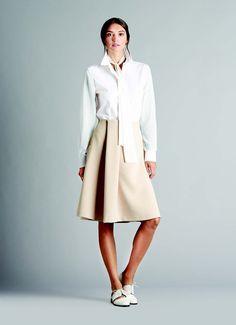 Ellen Tracy   LookBook Box Pleat Skirt, Box Pleats, Pleated Skirt, Ellen Tracy, Spring Summer 2015, Spring Collection, Her Style, Work Wear, Attitude
