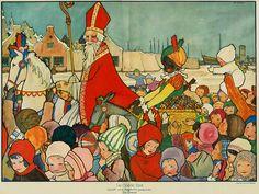 Rie Cramer Sinterklaas -poster 1929 | Flickr - Photo Sharing!