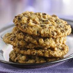Oatmeal-Chocolate Chip Cookies recipe from Betty Crocker