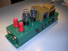 6AS7 amplifier / Tube DIY Asylum