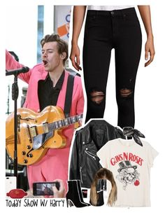 Today Show with Harry Harry Styles Clothes, Harry Styles Memes, Harry Styles Imagines, Celebrity Fashion Outfits, Celebrities Fashion, 1d Preferences, One Direction Outfits, Girl Outfits, Cute Outfits