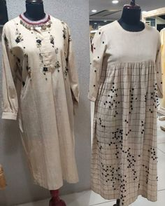 Dress Paterns, Applique Designs, Kurtis, Embroidery, Cotton, Dresses, Style, Vestidos, Swag