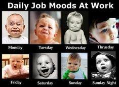 Job moods :)