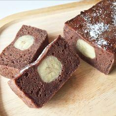 トースターで米粉のココアバナナケーキ♡ by まゆ丼cook [クックパッド] 簡単おいしいみんなのレシピが232万品