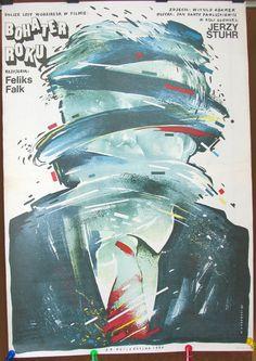 Hero of the Year. Polish 1986 film by Feliks Falk. by artwardrobe