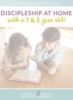 love the resources she included for discipling elementary age kids!!