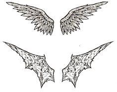 Image detail for -Angel-Demon wings tattoo by ~shinjistrikes on deviantART